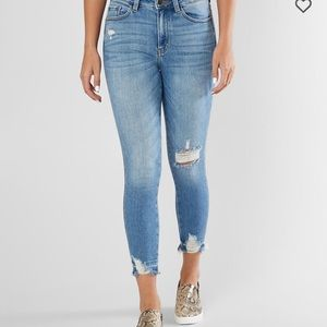 Kancan Signature High Rise Ankle Skinny Jeans